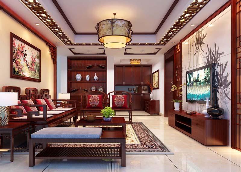 华夏世界城170㎡古典中式