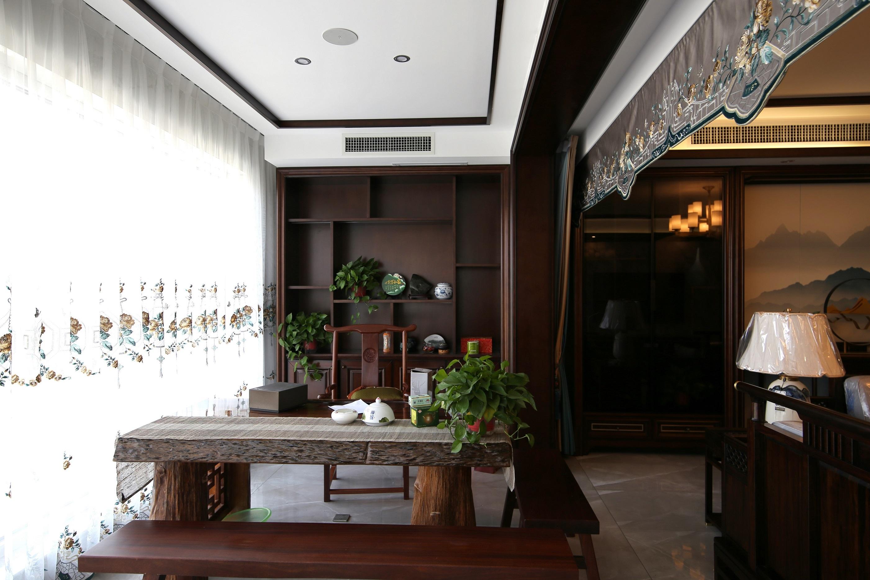 天玺台248㎡新中式实景案