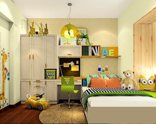 儿童房如何设计?宝妈看过来,给孩子一个舒适的空间