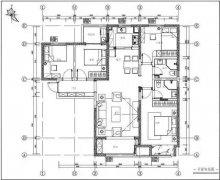 三迪金域中央133㎡现代轻奢,功能性与视觉体验